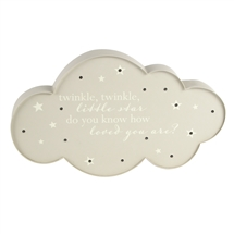 Light Up Cloud Wall Art