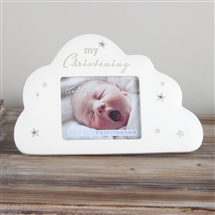 Bambino Cloud Christening Frame
