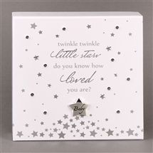 Twinkle Twinkle LED Plaque 18cm