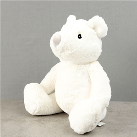 Bambino White Plush Bear 31cm