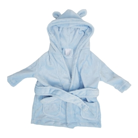 Bambino Babys First Dressing Gown Blue