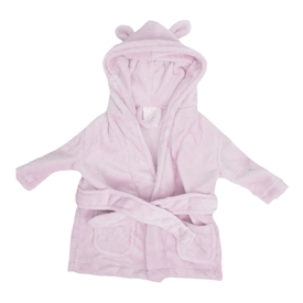 Bambino Babys First Dressing Gown Pink