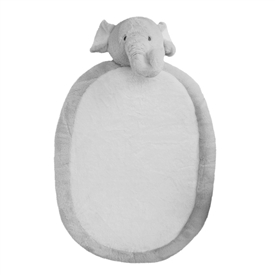 Bambino Plush Oval Elephant Play Mat