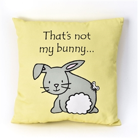 That's Not My Bunny Double Sided Cushion 30cm