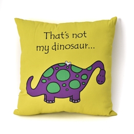 That's Not My Dinosaur Double Sided Cushion 30cm
