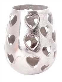 Cut Out Heart Lantern 16cm