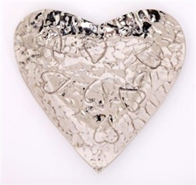 Heart Bowl With Embossing