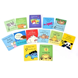 Set Of 12 Milestone Cards