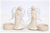 Angel Tealight Holder 2 Assorted 11cm