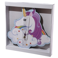 Unicorn Shaped Clock