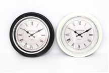 Round Wall Clock 2 Assorted 40cm