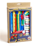 Retro Stacking Domino Game