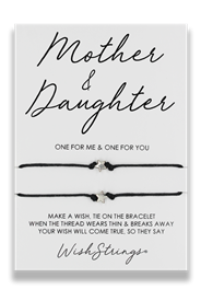 Wishstrings Mother And Daughter Double Bracelet
