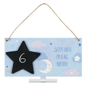 Big Brother Countdown Plaque 20cm