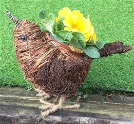 DUE MAY Brushwood Bird Planter 30cm