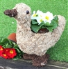 Moss Effect Duck Planter 33cm