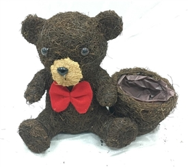 15% OFF<p>Brushwood Teddy Planter 26cm