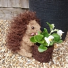 Cute Brown Brushwood Prickly Hedgehog Planter 24cm