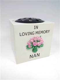 Nan Rose Flower Bowl 14cm