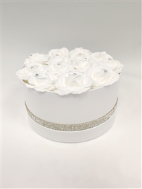 White round Flower Box