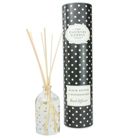 Stars Reed Diffuser - Black Pepper & Woodsmoke