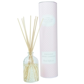 Polka Dot Reed Diffuser - English Rose Garden