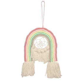 Cotton Rainbow Dreamcatcher