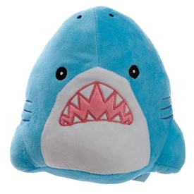 Plush Shark Doorstop 20cm