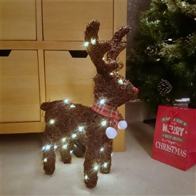 50 LED Reindeer Medium 46cm