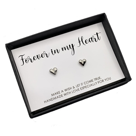 Set Of 2 Forever In My Heart Earings