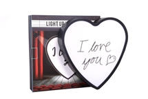 REDUCED Light Up Heart with Pen