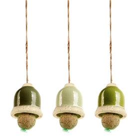 Bird Feeding Bell 3 Assorted