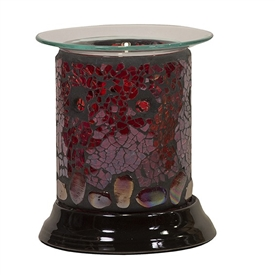 Electric Oil Warmer Straight Ruby Mosaic