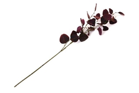 Artificial Burgundy Eucalyptus Flower Spary 90cm