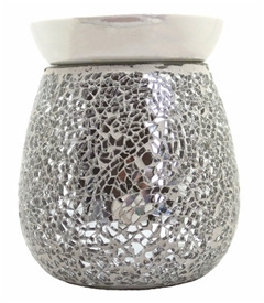 Electric Wax Melter -  Silver Mosaic