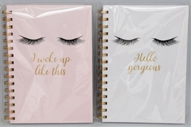 A5 Eyelash Notepad 2 Assorted 21cm