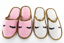 Eyelash Slippers 2 Assorted