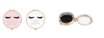 Eyelash Compact Hair Brush 2 Assorted