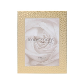 Impressions Juliana Gold Hammered Photo Frame 5x7