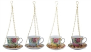 Tea Cup & Saucer Bird Feeder