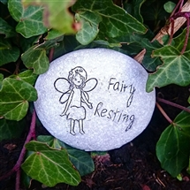 Fairy Pebble - Fairy Resting