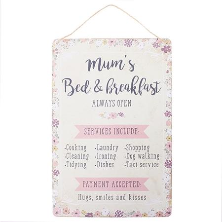 Mums bed breakfast plaque stopboris Image collections