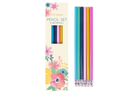 Pack Of Colourful HB Pencils