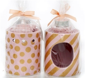 Pink Burner Gift Set 2 Assorted  11cm