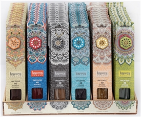 Karma Incense With Holder 6 Assorted