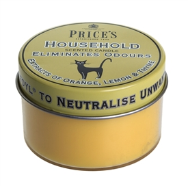 Household Scented Candle Tin