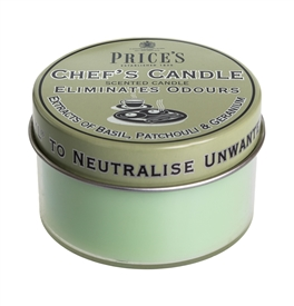 Chefs Scented Candle Tin