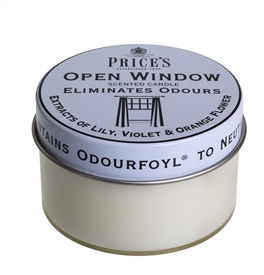 Open Window Scented Candle Tin