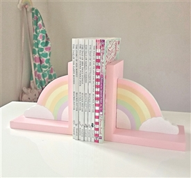 Rainbow Bookends Set of 2