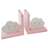Pink Clouds Bookends Set of 2